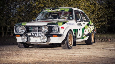 1977 Ford Escort MkII Rally Car Driven By McRae Family Up For Auction