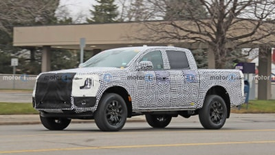 2021 Ford Ranger caught on camera in new spy photos – report