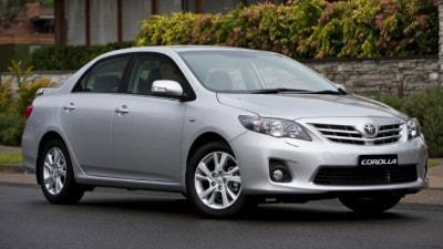 2010 Toyota Corolla Sedan Update Announced For Australia