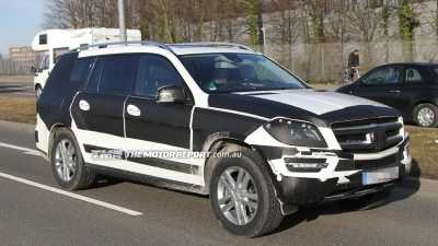 2013 Mercedes-Benz GL-Class Heading To New York Auto Show