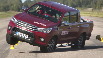 Toyota Responds To HiLux 'Moose Test' Instability