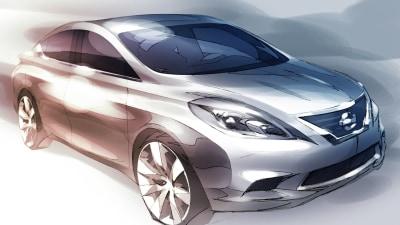 2012 Nissan Tiida Teaser Revealed Ahead Of December Unveiling