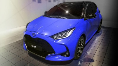 2020 Toyota Yaris exterior leaked without disguise
