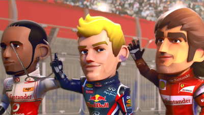 Gaming: F1 Race Stars, Where Formula 1 Meets Mario Kart – Video