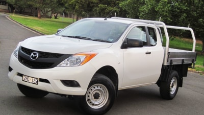 2012 Mazda BT-50 Freestyle Cab-Chassis XT Diesel Hi-Rider Review