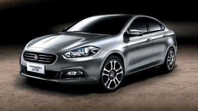 Fiat Viaggio Sedan Revealed