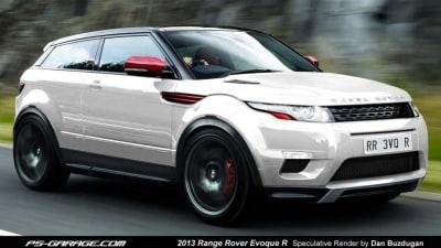 Range Rover Evoque R Rendered