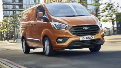 Ford Transit Custom Update Revealed In Europe