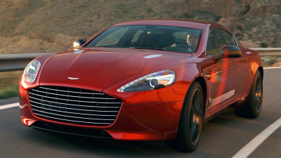 Powerful New Aston Martin Rapide S Can't Stop Smiling