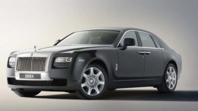 2010 Rolls-Royce Ghost Officially Announced At Shanghai