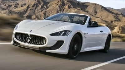 Maserati GranCabrio MC Coming To Paris