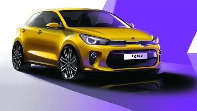 Kia Rio – All-New Fourth Generation Model To Debut At Paris Motor Show
