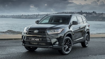 Toyota releases Kluger Black Edition