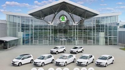 Skoda Celebrates Production Of 20 Million Vehicles