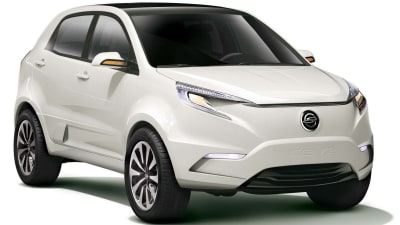 SsangYong KEV2 Electric Vehicle Concept Revealed At Seoul