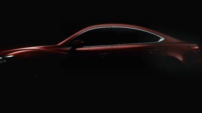 2013 Mazda6 Teased Further: Video