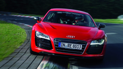 Audi R8 E-Tron Sets New Ring Record, Confirms Production Specs