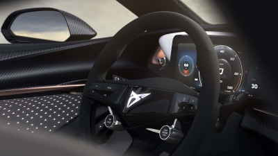Cupra teases interior of its new EV concept