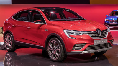 Renault Arkana unveiled in Moscow
