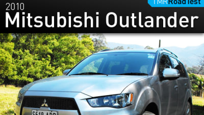 2010 Mitsubishi ZH Outlander First Drive Review