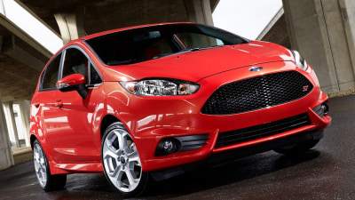 2013 Ford Fiesta ST Tacks On Two Doors For LA Auto Show