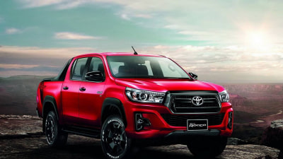 Updated Toyota HiLux revealed