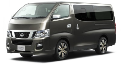 Nissan NV350 Van Revealed, Australian Debut Unlikely