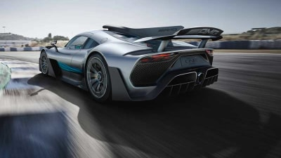 Mercedes-AMG Project One Hypercar Revealed