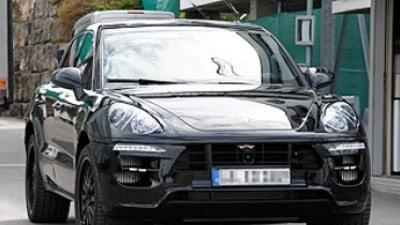 Unmasked: Porsche's baby SUV