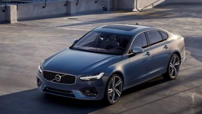 2017 Volvo S90 And V90 R-Design Revealed