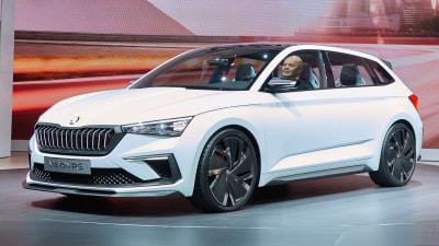 Skoda unveils Vision RS concept