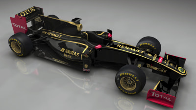F1: Renault To Keep Name, Black Livery In 2012