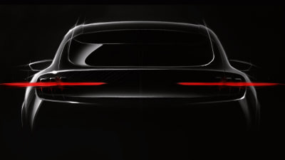 Ford teases upcoming electric SUV