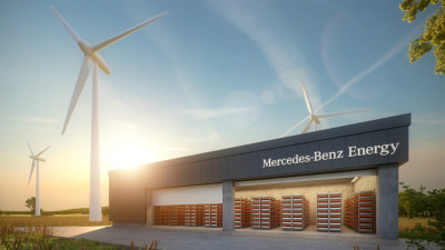Mercedes-Benz Energy - New Energy Storage Arm To Tackle Tesla Powerwall
