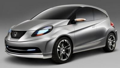 Honda New Small Concept Revealed In Lead-Up To Delhi Auto Expo
