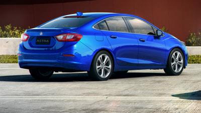 2017 Holden Astra Sedan Revealed