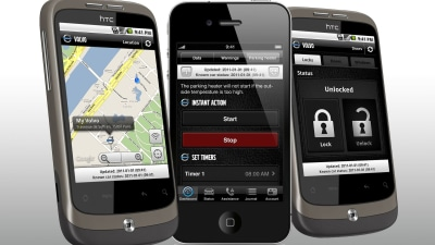 Volvo Launches Car-monitoring iPhone And Android Apps