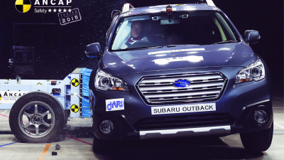 ANCAP: 2015 Subaru Liberty, Outback Continue 5-Star Record