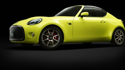Toyota S-FR Concept Unveiled Ahead Of Tokyo Motor Show