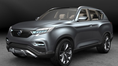 SsangYong LIV-1 Concept Revealed