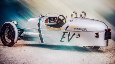 Morgan 3 Wheeler Goes All-Electric For Goodwood