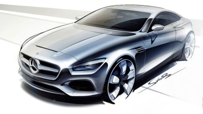 Mercedes-Benz S-Class Coupe Concept Teased In New Artwork
