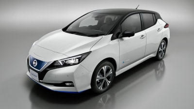 Nissan Leaf e+ revealed