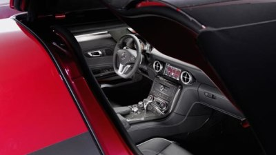2010 Mercedes-Benz SLS AMG: More Interior Images Released