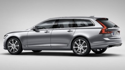 Volvo V90 Images Surface Ahead Of Official Debut