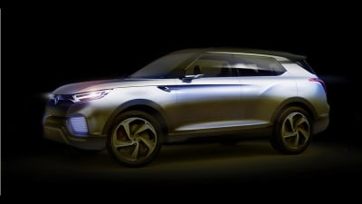 Ssangyong XLV Concept Preview Sketches Released