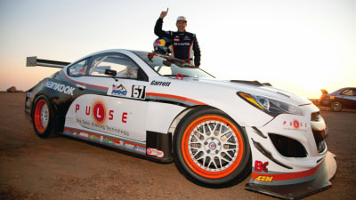 Rhys Millen Sets New Pikes Peak Record In Genesis Coupe, Evo Takes A Tumble