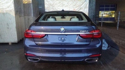 2016 BMW 7 Series Spied In The Nude