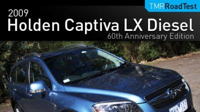 2009 Holden Captiva LX Diesel Road Test Review
