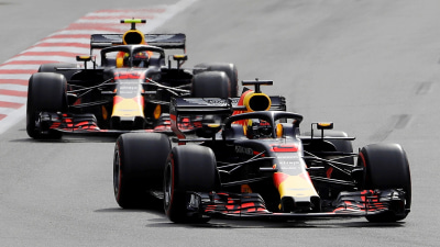 Motorsport: Red Bull carnage helps Hamilton to win